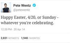 pete wentz, lol