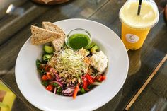 Cobb Salad, Juice, Facebook, Instagram, Food, Juice Fast, Meals, Juicing, Juices