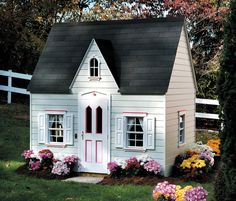 Princess Cottage Children's Playhouse