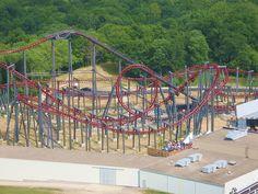 Kings Island - Firehawk Kings Island Ohio, Cincinnati Restaurants, Busch Gardens Tampa, One Day Trip, Roller Coasters, Amusement Parks, Lodges, Fair Grounds, Explore