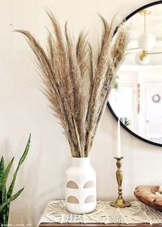 Create beautiful natural arrangements with naturally dried flowers and grasses. Get that special look with our exclusive natural dyed stems, popular pampas grasses, and wildflowers. Artificial Flowers And Plants, Dried Flowers, Cheap Home Decor, Diy Home Decor, Grass Decor, Country Wedding Decorations, Christmas Decorations, Pampas Grass, Boho Decor
