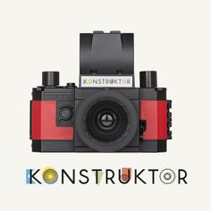THE WORLD'S FIRST 35MM DO-IT-YOURSELF SLR CAMERA EXPERIENCE THE ESSENCE OF PHOTOGRAPHY Perfect for Do-It-Yourself lovers and those interested in learning, understanding and experiencing how analogue photography works, the Konstruktor is a fully-functional 35mm SLR camera which you can easily build at home.