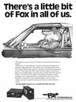 Fox SuperFox Radar Detectors 1982 Ad Picture