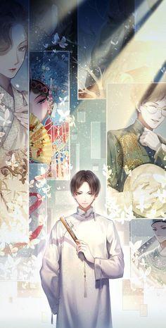 Watch anime online in English. Beautiful Love, Beautiful Artwork, Chinese Opera, Writing Fantasy, View Wallpaper, Handsome Anime Guys, China Art, Cute Chibi, Boy Art