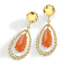 CIJ International Jewellery TRENDS & COLOURS - Earrings by Brumani