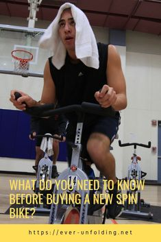 What do you need to know before buying a new spin bike? Indoor Cycling Bike, Cycling Bikes, Workout Gear, Fun Workouts, Spin Bike For Home, Cycle Trainer, Spin Bikes, Bike Reviews, Fitness Magazine