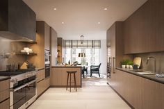 Gisele Bündchen and Tom Brady's Incredibly Luxurious $20-Million New York City Apartment  This cooking space, with modern finishes and top-of-the-line appliances, will surely be a charming s... - Courtesy