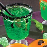 Try this Green-Goblin Punch recipe at your next Halloween party. It's fun for kids and adults alike!