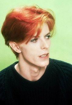 David Bowie © Steve Schapiro 1974, LA.
