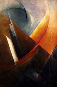 - Construction d'un mouvement rectiligne - 1925 Ivan Koudriachov Abstract Landscape, Abstract Art, Abstract Paintings, Modern Art, Contemporary Art, Wassily Kandinsky, Russian Art, Art Studies, Bauhaus