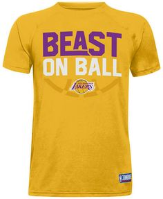 7854c3411c2 Under Armour Los Angeles Lakers Combine Beast on Ball T-Shirt