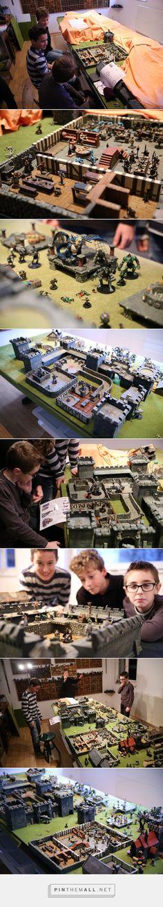 Aventure jeu de role donjon en 3D Kandor la maudite - created via http://pinthemall.net
