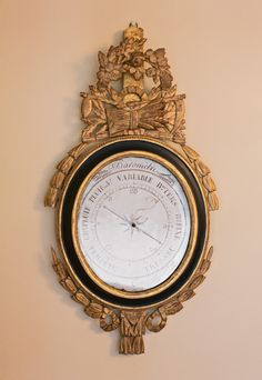 Antique French Barometer 18th century  #barometer #antique