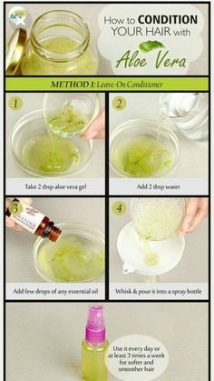 Howto Condition Your Hair With Aloe Vera - Hair Care Routine - Haar Pflege Aloe E Vera, Aloe Vera For Hair, Aloe Vera Gel For Hair Growth, Natural Beauty Tips, Natural Skin Care, Natural Hair Styles, Natural Oils, Aloe Vera Haar Maske, Beauty Hacks For Teens