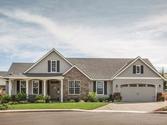 """Ranch House Plan with Bedrooms: 3 Baths: 2 Den (possible bedroom) Living Area: 1,873 sq.ft. Width: 70' Foundation: Crawlspace Depth: 51' 6"""" Stories: 1 Bays: 3 from Dream Home Source   House Plan Code DHSW36309"""