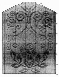 Only Crochet Patterns Archives - Beautiful Crochet Patterns and Knitting Patterns Filet Crochet Charts, Crochet Diagram, Crochet Motif, Crochet Doilies, Doily Patterns, Knitting Patterns, Crochet Patterns, Crochet Table Runner, Crochet Tablecloth