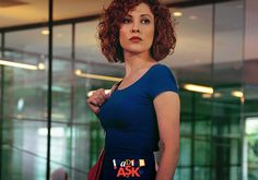 Açelya Topaloğlu Resimleri (2) Turkish Actors, Vintage Hairstyles, Hair Inspiration, Celebrities, Naturally Curly, Curly Bob, Image, Instagram, Women