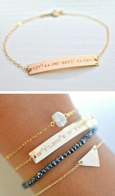 I love coordinate related jewelry. Such a special way to remember