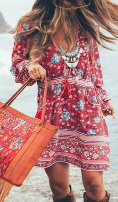 #spellandthegypsycollective #boho #outfits | Gypsy Little Folk Dress