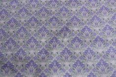 Lilac Flower Tana Cotton Lawn
