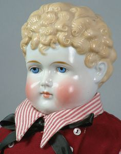 """INCREDIBLE 28"""" *DASHING* ANTIQUE China Gentleman Doll CIRCA 1870 in GREAT COND!"""