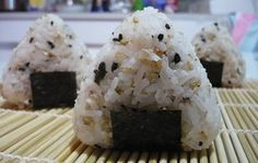 Bento Lunch Blog: Rezept-Links: Onigiri