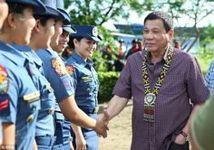 Philippines president Rodrigo Duterte claims atheism means people . Lack Of Respect, President Of The Philippines, Rodrigo Duterte, Mean People, Country Quotes, Atheism, Presidents, Death, Men Casual