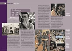 BA (Hons) Practical Filmmaking Graduate Edward Carlton talks about his experience studying filmmaking at Met Film School in the latest Venue magazine: