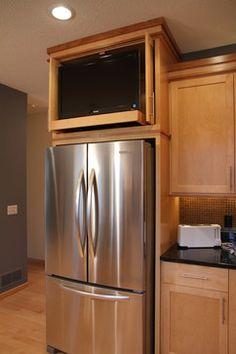 7 Best Kitchen Tv Ideas Images Tv In Kitchen Kitchen Kitchen Remodel