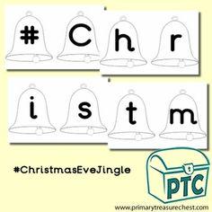 FREE Christmas Eve Jingle Printables - Worldwide Christmas Eve Jingle - Primary Treasure Chest Treasure Chest, Jingle Bells, Christmas Eve, Bunting, Activities, Printables, Free, Ideas, Garlands