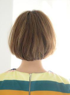 【ボブ】ナチュラル切りっぱなしボブ/[+]tag'sの髪型・ヘアスタイル・ヘアカタログ 2016春夏