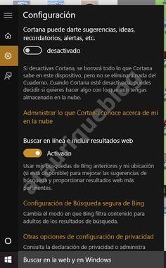Botón de Inicio y Barra de tareas en windows 10