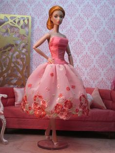 Geranium Party Dress by Bellissimacouture on Etsy