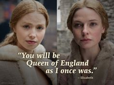 Like mother, like daughter. #TheWhiteQueen