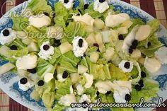 Salada de Acelga com Abacaxi » Guloso e Saudável