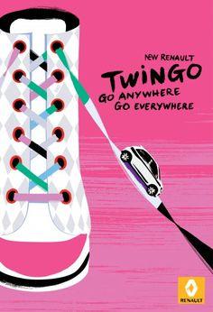 Nouvelle Pub Twingo 2014