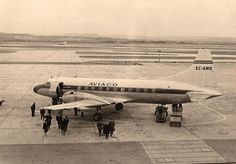 Aviaco Convair CV440 at Madrid Barajas, 1965