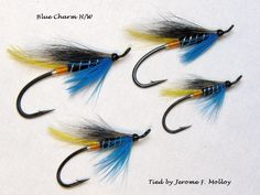 The Blue Charm - hairwing salmon flies