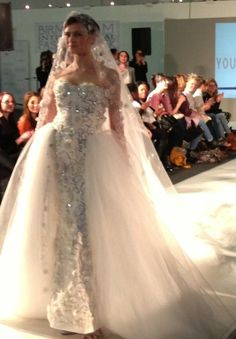 youssef Kamoun wedding dress collection 2013