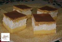 Fincsi receptek: Krémes sütik Just Eat It, Hungarian Recipes, No Bake Cake, Tiramisu, Cheesecake, Food Porn, Pudding, Sweets, Baking