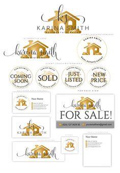 Real Estate logo design Realtor logo House logo Branding