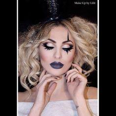 #makeupbylilit #hair by @Lara Elliott Kay #model @kivetat #circus #photoshoot #ringleader #makeupartist #glitter #makeup #beauty #glamour #lashes #falsies #cosmetics  - @Lili Tankersley Caradanian- #webstagram