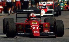 1989 Nigel Mansell, Ferrari 640