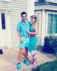 Ken and Barbie before their Disneyland adventures.  #mickeyshalloweenparty #toystory3