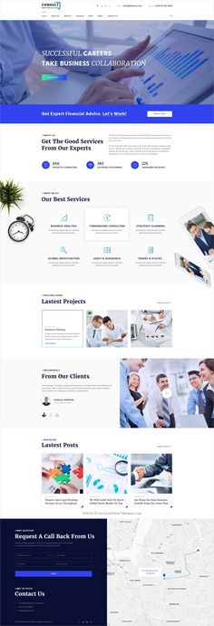 Business Consult is clean and modern design #Photoshop template for #business consulting agencies website with 18+ layered PSD files download now > https://themeforest.net/item/consulting-business-consulting-psd-template/19984796?ref=Datasata