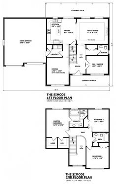 canadian home designs custom house plans stock house plans garage plans - Custom Small Home Plans