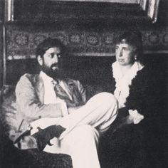 Fortuny (with his Mother, Cecilia de Madrazo, Venice)