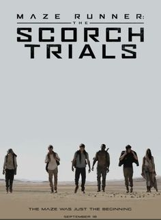 Today The Scorch Trials is playing in Indonesia!! I'm so exited! I'll watch it tomorrow, because today I'm still going to school. Wohoooo can't wait for tomorrow