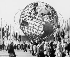 Admission was $2 for adults and $1 for children and one of the key attractions was the Unisphere, an enormous stainless steel model of the Earth