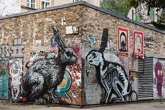 Street art in Berlin - guide.